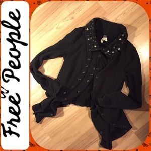 🌾We The Free Open drape Cardigan Sz Med